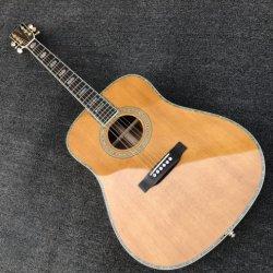 """41"""" Handmade Blackwood D45 Guitarra Acústica de cedro sólido comienzo D45s Eléctrico Acústica Dreadnought 41"""" de calidad superior de Guitarra Acústica Folk"""
