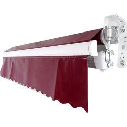 Comercio al por mayor de PVC retráctil doble techo de la sombra de la piscina del patio toldos Canopy