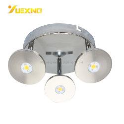 جودة عالية ترويجية LED قابلة للتخفيت دوران ضوء LED موضعي للسقف بقوة 15 واط أضواء الزينة في إضاءة الثريا إضاءة مبيت الكوب