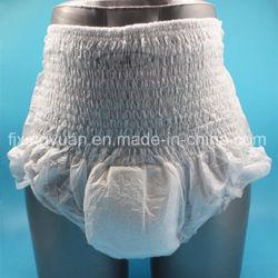 Cómoda alta absorbente Pañales desechables para adulto pantalones