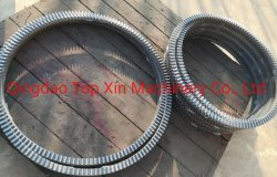 산업용 콘크리트 믹서는 철 주조 기어 링을 사용합니다