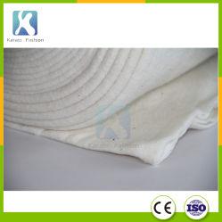 Manta de algodón lana Rollo de bateo, Relleno de poliéster