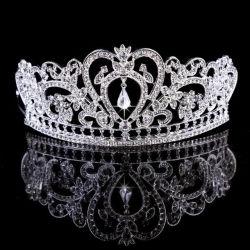 Casamento de atacado de moda Tiara Rhinestone Princess Crown