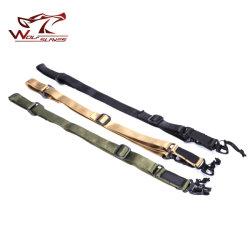 ロゴのパッチ銃の吊り鎖が付いている戦術的なMulti-Missionライフルのスコープの吊り鎖