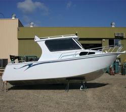 25FT/7.5m de Hete Vissersboot van de Cabine van het Aluminium van de Verkoop voor Verkoop
