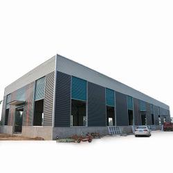 Wind-beständige Lager-haltbare Werkstatt-Baustahl-Zelle-Herstellung kundenspezifisches am meisten benutztes Stahlkonstruktion-Gebäude