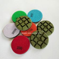 Plancher de béton de diamant Tampon à polir la résine d'outils abrasifs