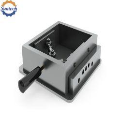 La fabrication de tôle de fabrication OEM la poignée en plastique du chargeur de cas de rotation