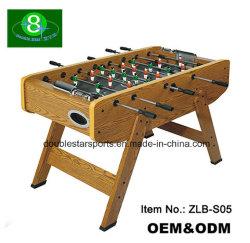 최고 인기 상품 고위 MDF 축구 테이블 Familily를 가진 목제 테이블 실내 축구 테이블 게임 실행