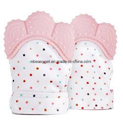 Silicone Baby Teether Mitten Zoals Bijtring Speelgoed Voor Bijtring Zorgt Voor Zelfverzachtende Fun-Ideal Baby Douche Gift Esg10409