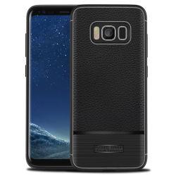 علبة الغلاف الواقية من الأسقطرة المضادة لاريتشي ذات النمط الحُفر المتنقل لـ Samsung Galaxy Note S8 S8 Plus