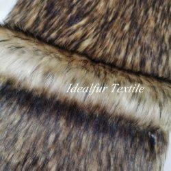 Mucchio lungo del Faux della pelliccia del tessuto del commercio all'ingrosso della pelliccia della peluche lussuosa del tessuto