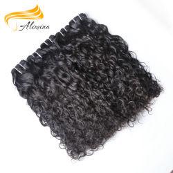 Alimina 100%стороны связаны Virgin Индийского Реми Weft волос