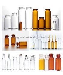 Frasco de vidro Série para Pharma e produtos cosméticos