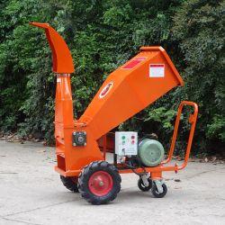 Commerciële Rang 85mm Afbrekende Elektrische Houten Chipper van de Capaciteit 10HP Ontvezelmachine