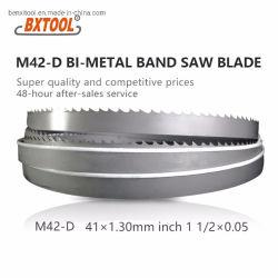 Bxtool M42-D bimetallisches Band Sägeblatt 41mm*1.3 (1 Zoll 1/2*0.05) für Ausschnitt-weiches Metall