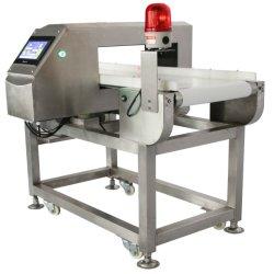 Transportador de la pantalla táctil del detector de metales de alimentos para el procesamiento de alimentos