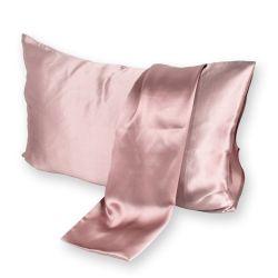 Commerce de gros de la taille personnalisée de luxe Mulberry en pure soie taie de tissu avec boîte cadeau
