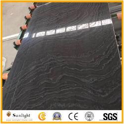 Marmo della vena della nube del taglio della traversa, marmo imperiale di legno del nero del sandalo