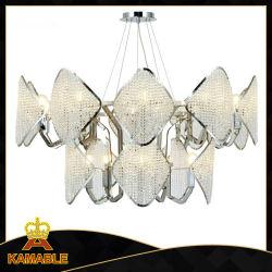 Lampen van uitstekende kwaliteit van de Tegenhanger van de Hal van het Huis van het Kristal van het Staal de Hangende (KAP17-037)