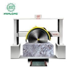 Wanlongのウォータージェットの花こう岩のマルチカッターの機械装置の石の花こう岩の打抜き機または石のブロックのぬれた切断