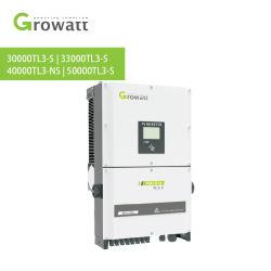 Inversor de Energia Solar Growatt na grade de inversor de potência eléctrica 30kw 33kw 40kw 50kw Sistema de Energia Solar do inversor para casa com o Melhor Preço