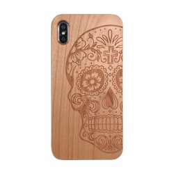 Apple Xs Max/Ixr High End Solid Wood Mobile Phone Case Real Wood Grain I6s Protective CaseのiPhone 7/8plusのために適した