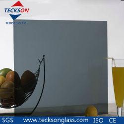 4-8mm graues/hellgraues reflektierendes abgetöntes Eurofloatglas