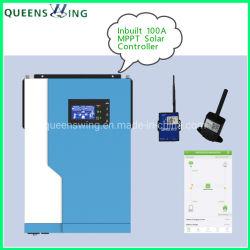3.5kw 500VDC hybrider Solarinverter mit 100A MPPT Solarcontroller-Maximum PV-Reihen-Energie 5000W