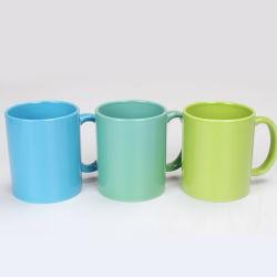 La Chine de gros de vitrage complet 11oz céramique en porcelaine des tasses à café