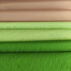 100% Nylon Crepe tela resistente al agua natural