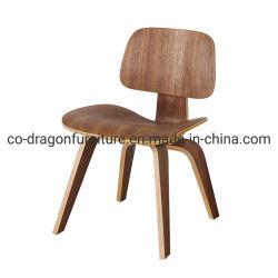 Sede di legno della noce di alta qualità e svago posteriore che pranzano presidenza per la mobilia del salone