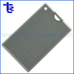 Metal plateado memoria Flash USB Stick para regalo de empresa