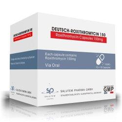 Высокое качество хорошее соотношение цена конкурентные производства по контракту Roxithromycin капсул 150mg
