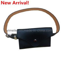 Novo Saco de cinto de cintura mulheres PU Leather à cintura Pack