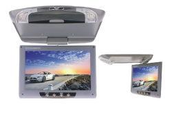 9 polegadas, Aluguer de Carro para montagem no telhado do Monitor Monitor a cores LCD Monitor do painel para baixo, o Monitor do Mostrador para montagem no telhado do Teto