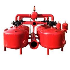 Systeem van de Irrigatie van China van het Vervangstuk van de Filter van het Zand van het Water van de landbouw het Zelfreinigende