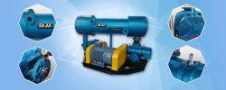 Pacote de blower Roots de fase dupla no tratamento de águas residuais e. Outras aplicações