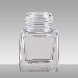 La transparence et la bouteille PET en verre coloré Package cosmétiques Huile Essentielle Jar