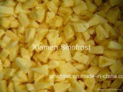 IQF Ananases, congeladas Ananases, petiscos/cortada em cubos/Cubos/Cortes