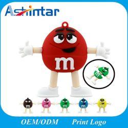 بطاقة رسومات USB من OEM ذاكرة فلاش USB بحجم ملم لرابو وحبوب من نوع Rainbow