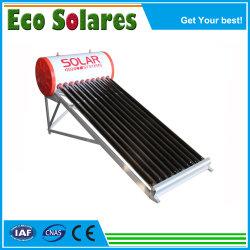 Marcação, RoHS mais barato, Keymark ou aço inoxidável pressão de suporte do depósito de água partes separadas galvanizado tubos de depressão do tubo de calor aquecedor solar de água