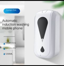 Automatischer Induktions-Handseifen-Zufuhr-an der Wand befestigter Sterilisator-intelligenter Tropfenzähler, zum des Kontakt-flüssigen waschenden Handys zu vermeiden