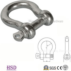 E. Galvanized Rigging HardwareのヨーロッパのType Large Bow Shackle