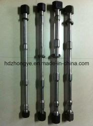 Utiliza piezas de maquinaria de construcción de los tornillos de martillo