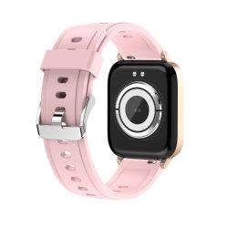 Cheap GT01 Reloj inteligente de la temperatura corporal de los teléfonos móviles relojes digitales Hombre Mujer Fitness Tracker Relojes de Pulsera Deportes Smartwatch IP68