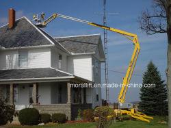 12m de altura de trabalho de Elevação da Lança de eléctrico