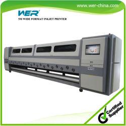 Wide Format Solvent Drucker Seiko1020-35pl 5m 4heads für Außendruck