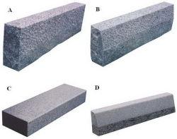 Preiswertes weißes/graues/Schwarzes/gelbe Granit-/Basalt-/Kalkstein-Straßen-Bordsteine/Kandaren G603/G654/G682/Gehsteig/Bordstein
