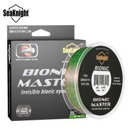 La serie Master Bionic manchada de 150m de la línea de monofilamento de nylon de pescar